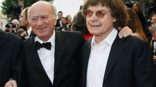 Georges Wolinski et Cabu.