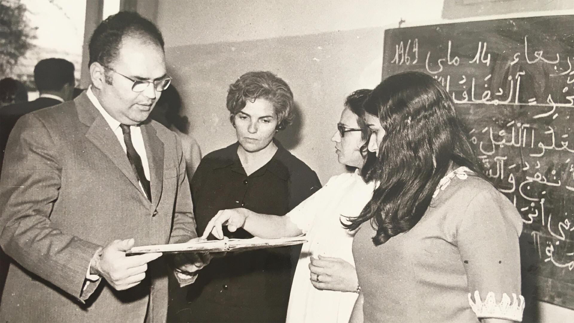 Radhia Haddad, la présidente des femmes.