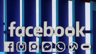 脸书标志。