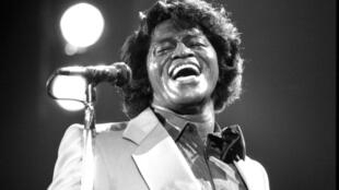 James Brown, en mayo de 1985.