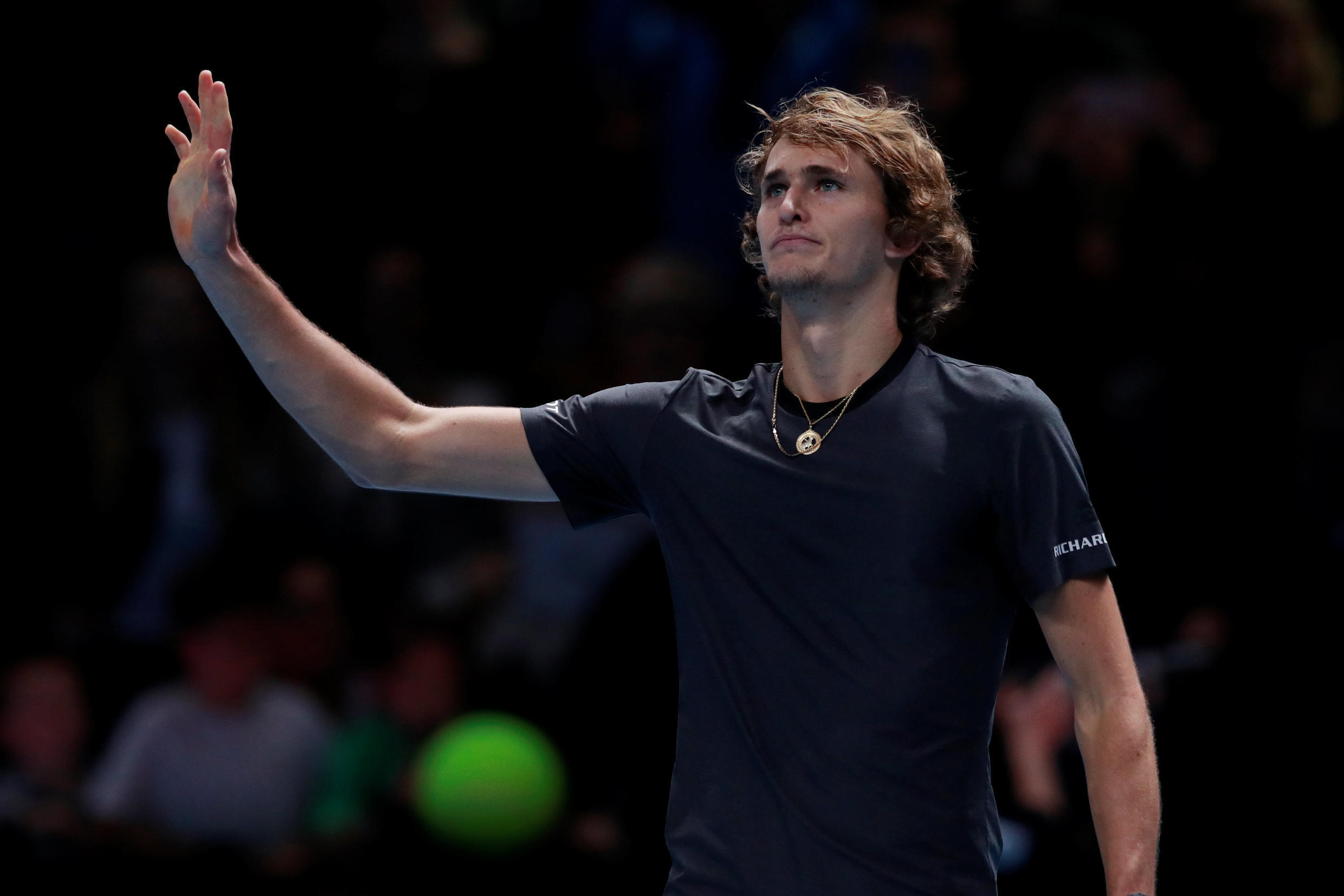 Alex Zverev is the first German to reach the final at the season ending championships for 22 years.