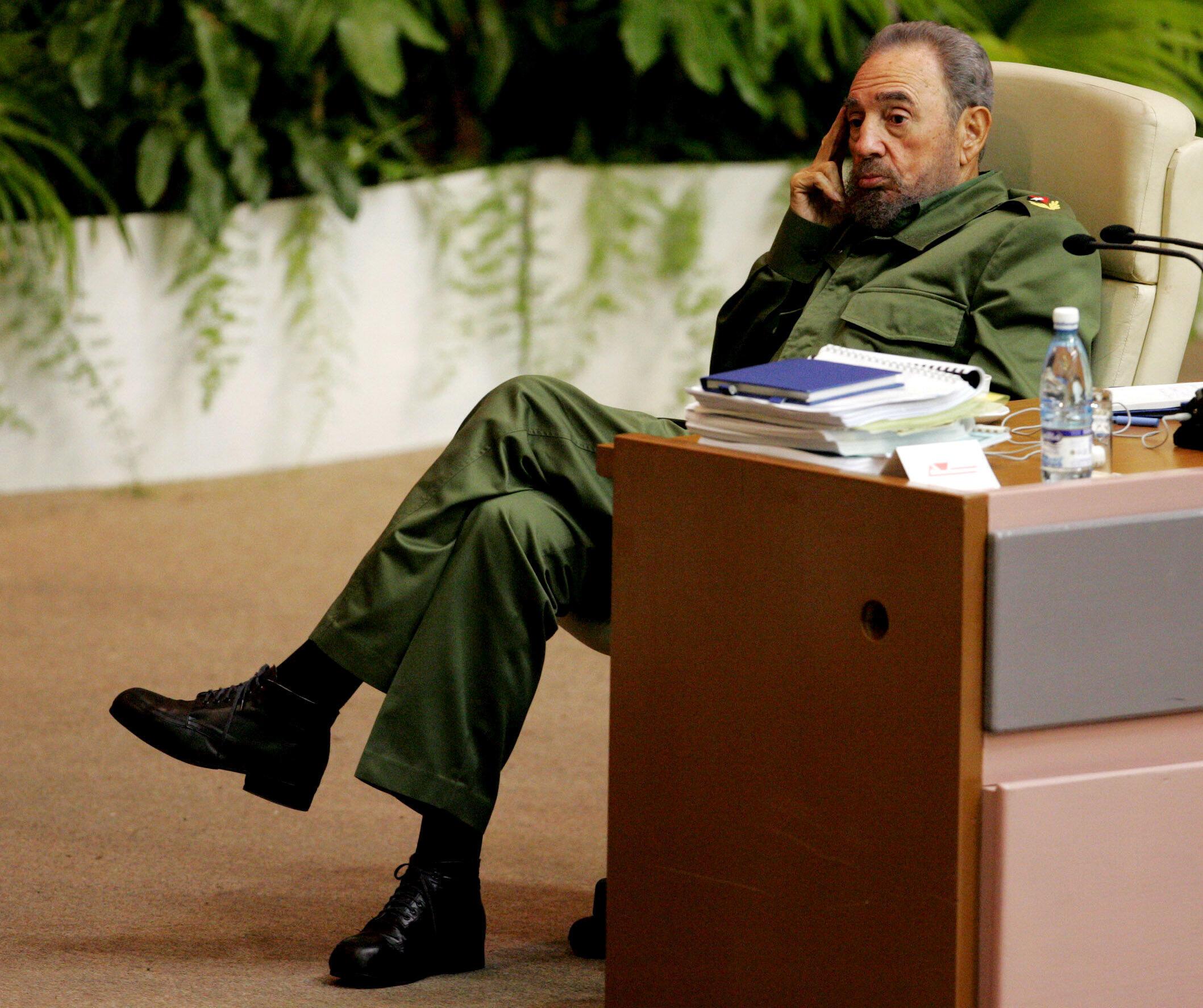 Fidel Castro, rais wa zamani wa Cuba, Ikulu Havana Juni 06 2005.