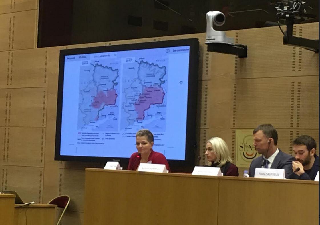 Конференция во французском Сенате по конфликту на востоке Украины