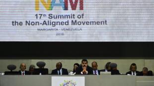 Hội nghị thượng đỉnh Phong trào Phi Liên Kết, ở Porlamar, đảo Margarita, Venezuela, ngày 17/09/2016