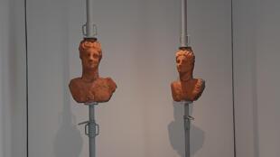L'exposition de l'artiste Malek Gnaoui à la galerie Selma Feriani.