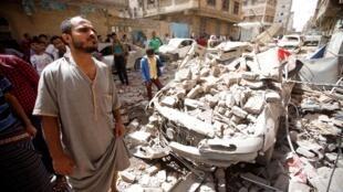 نیروی هوائی عربستان سعودی شماری از پایگاهها و تاسیسات شبه نظامیان حوثی در صنعا را بمباران کرد – ١٦ مه ٢٠١٩/ ٢٦ اردیبهشت ١٣٩٨