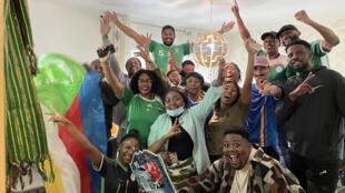 France - Comores - Football - des supporters des Coelacanthes célèbrent la qualification des Comores pour la prochaine CAN - Grand reportage Martin Guez