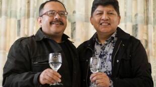 2020-12-11T225641Z_1494883869_RC2ALK9E40RC_RTRMADP_3_BOLIVIA-LGBT-CIVIL-UNION - Bolivie - LGBT