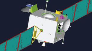 中国第一颗探月卫星嫦娥一号 2007年10月24日发射
