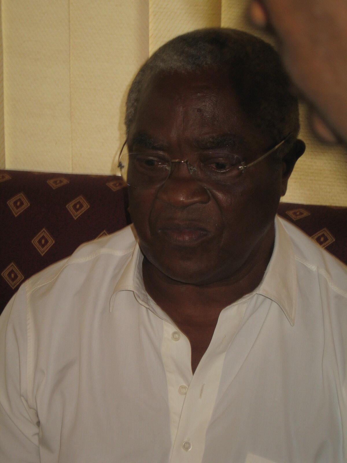 Manuel Pinto da Costa, presidente da república de São Tomé e Príncipe