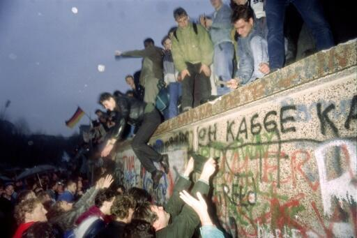 The fall of the Berlin Wall brought the communist regime crashing down and led to German reunification a year later