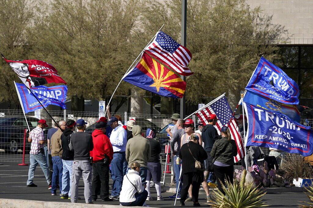 Élection - USA - manifestation - Phoenix - Donald Trump