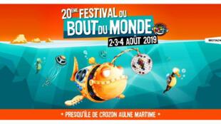 Visuel du 20e Festival du bout du monde 2019.