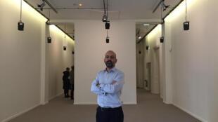 Director da delegação em França da Fundação Calouste Gulbenkian, Miguel Magalhães, n'A exposição de um sonho