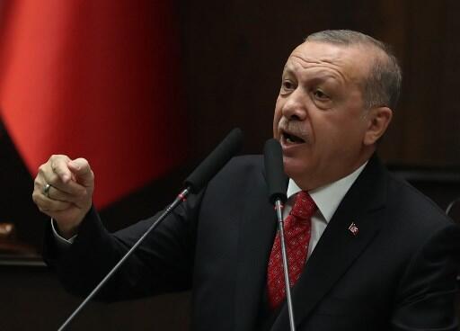 Le président turc Erdogan. (Photo d'illustration).