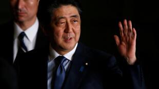 O primeiro-ministro japonês, Shinzo Abe