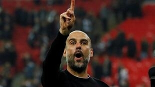 Manchester City manager Pep Guardiola has laready won the League Cup this season.