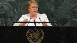 Kamishna Mkuu wa Haki za Binadamu Michelle Bachelet. (Picha ya kumbukumbu).