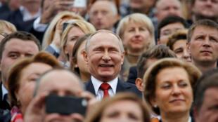 Владимир Путин на Дне Москвы 10 сентября 2016