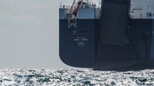 Le «Bahri Yanbu», cargo géant de 220 m, mouillait depuis mercredi 8 mai à 30 km du Havre (nord-ouest) sans bouger.