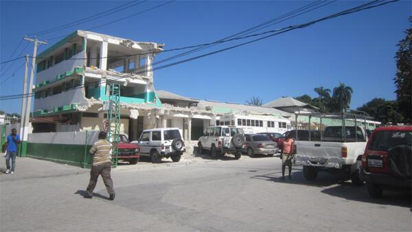 L'Hôpital universitaire de l'État d'Haïti, Port-au-Prince.