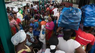 Moçambique reabre fronteira para facilitar regresso de trabalhadores na África do sul. Imagem de arquivo