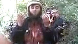 تصویری از گروه اسلامگرای جماعت انصارالله در تاجیکستان