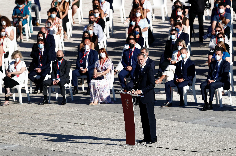 Covid Espagne Roi Felipe Espanha