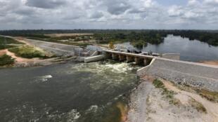En Côte d'Ivoire, ce jeudi 2 novembre va être officiellement inauguré le barrage hydroélectrique de Soubré (ici en mars 2017).