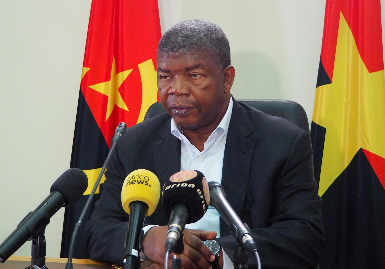 João Lourenço held a press conference in Luanda on August 22, 2017.