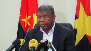 João Lourenço held a press conference in Luanda on August 22, 2017.