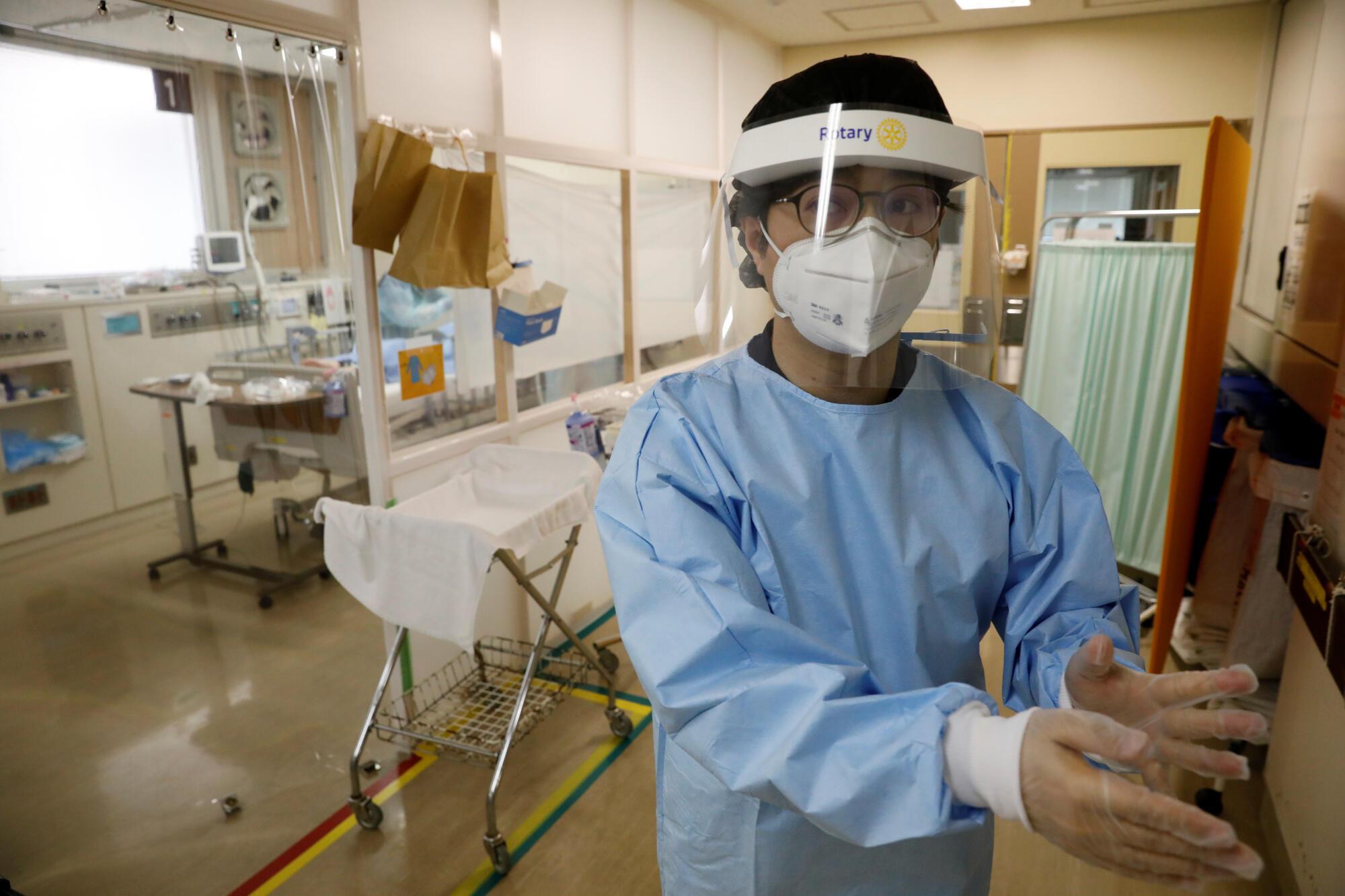 日本横滨医院的一位医生
