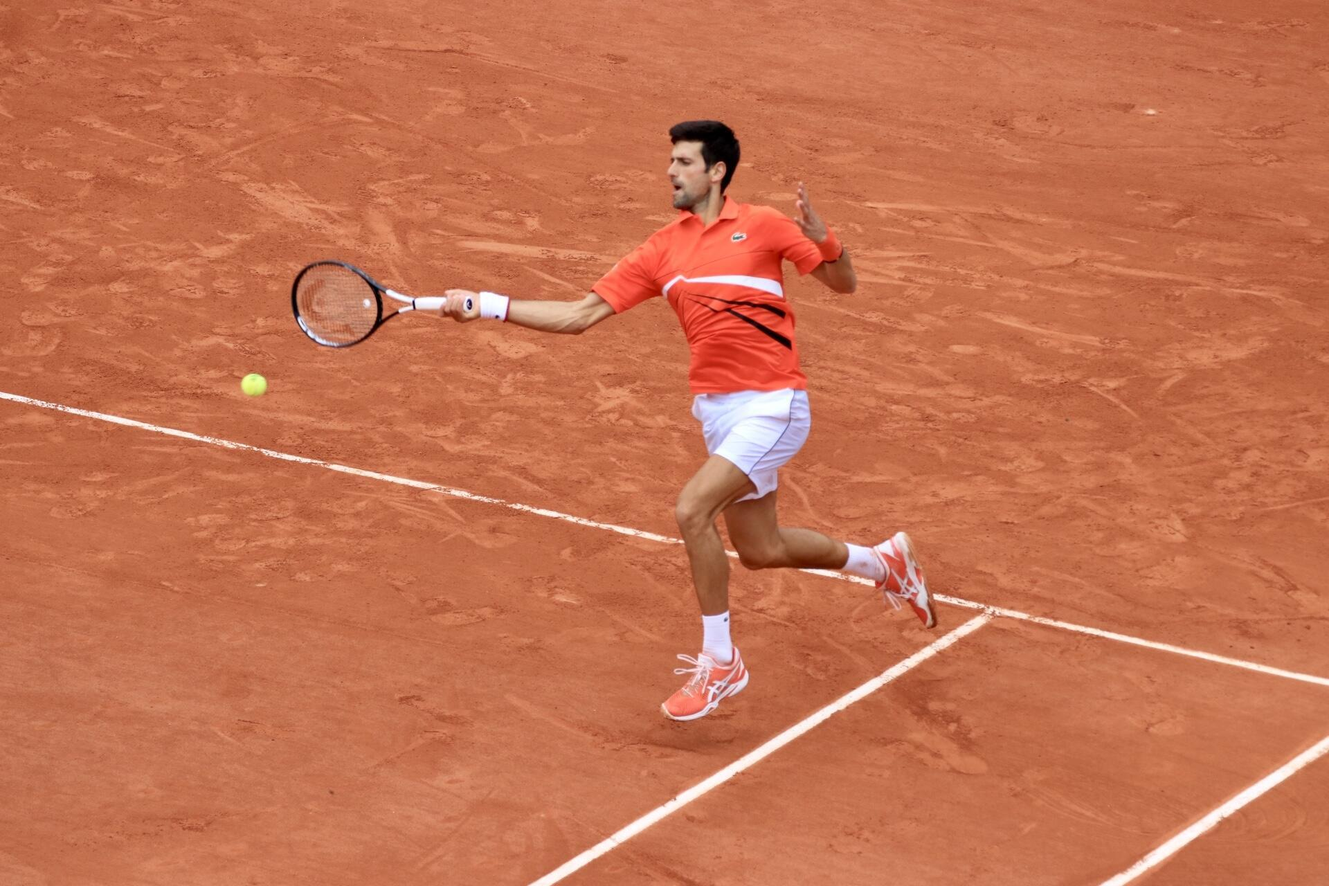 Novak Djokovic is yet to drop a set at the 2019 French Open.