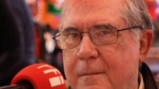 Ramón Chao em Paris, em 2009.
