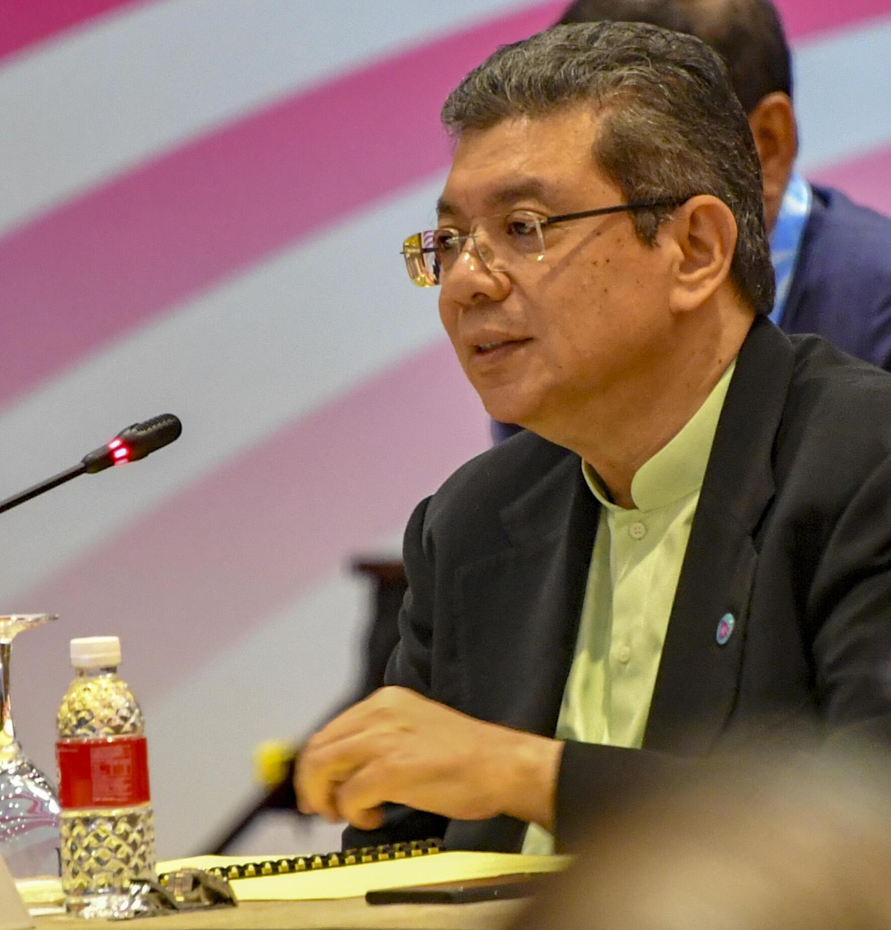 Ngoại trưởng Malaysia Saifuddin Abdullah. Ảnh chụp ngày 03/08/2018.
