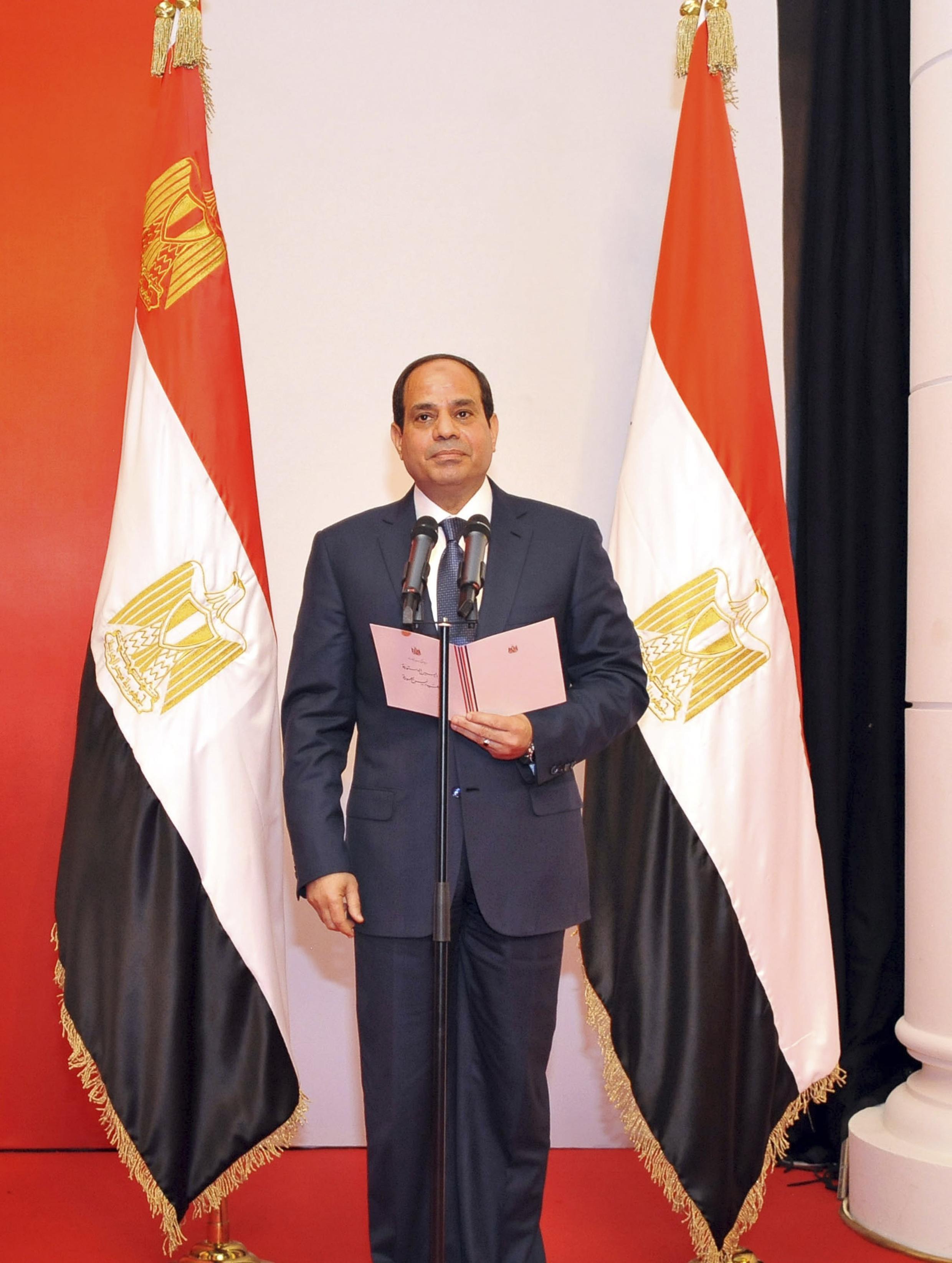 Sabon Shugaban kasar Masar Abdel Fattah al-Sisi
