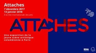 """""""Attaches"""" podrá verse en París hasta el 13 de enero cerrando el año Francia Colombia."""