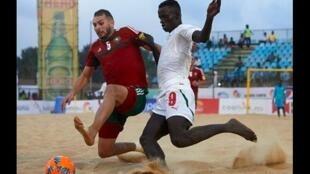 Senegal ikimenyana na Morocco katika mchuano wa ufunguzi wa soka la ufukweni nchini Nigeria