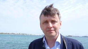 Sergei Loznitsa, réalisateur du documentaire MAIDAN, présenté ce 21 mai en séance spéciale dans la sélection officielle du Festival de Cannes 2014.