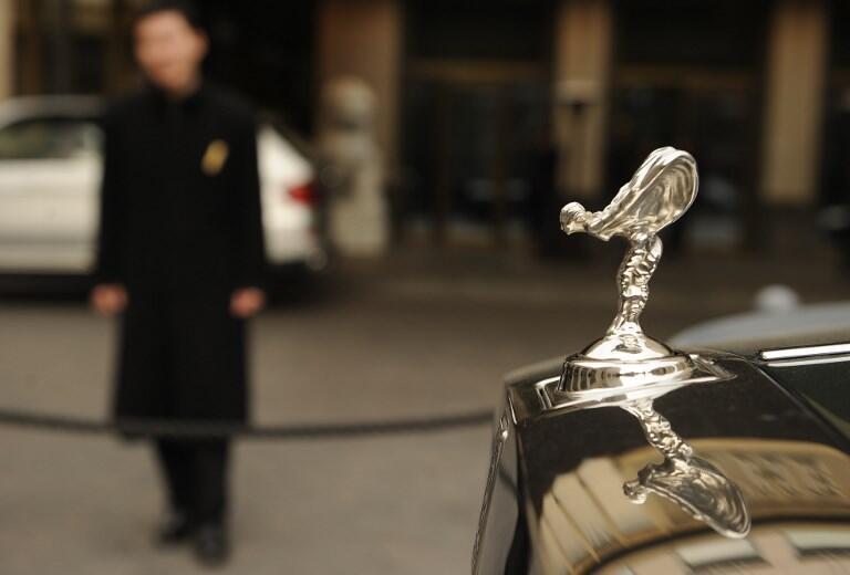 Rolls-Royce រថយន្តដ៏ប្រណិតបំផុតត្រូវបាននាំចូលទៅកូរ៉េខាងជើង