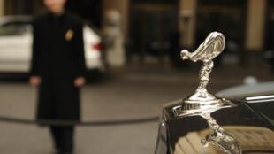 La voiture Rolls-Royce serait un des produits de luxe importés en Corée du Nord...