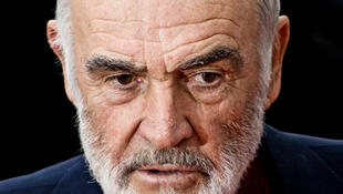 Sean Connery en 2008 au Festival international du film d'Édimbourg.