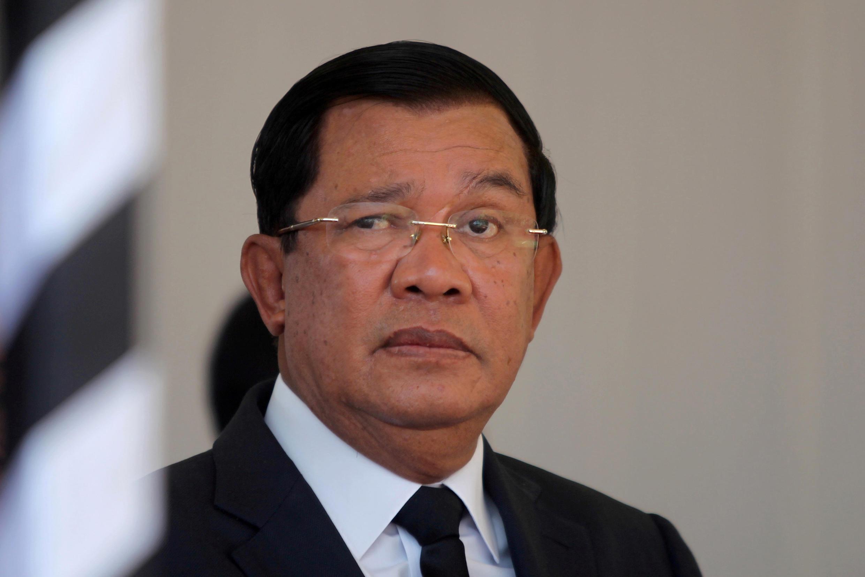 Thủ tướng Cam Bốt Hun Sen, người không dễ chấp nhận chỉ trích. Ảnh 19/03/2017, tại Phnom Penh.