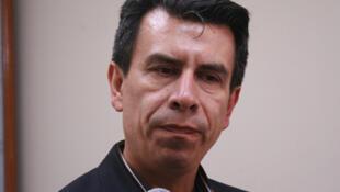 """Mario Polanco, responsable de la ONG """"Grupo de Apoyo Mutuo""""."""