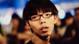 香港民主运动青年领袖黄之锋