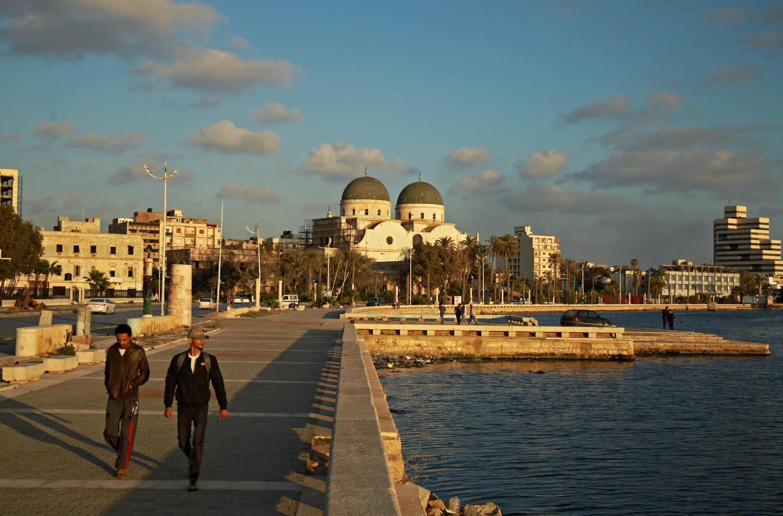 Vue de la ville de Benghazi où a été jugé par un tribunal militaire le journaliste libyen (image d'illustration).