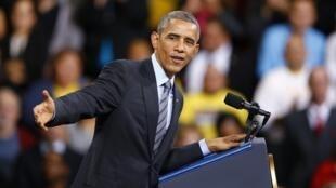 Presidente Barack Obama fez um discurso neste sábado em Las Vegas.