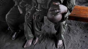 Les conditions de détention sont difficiles à la prison centrale de Goma.