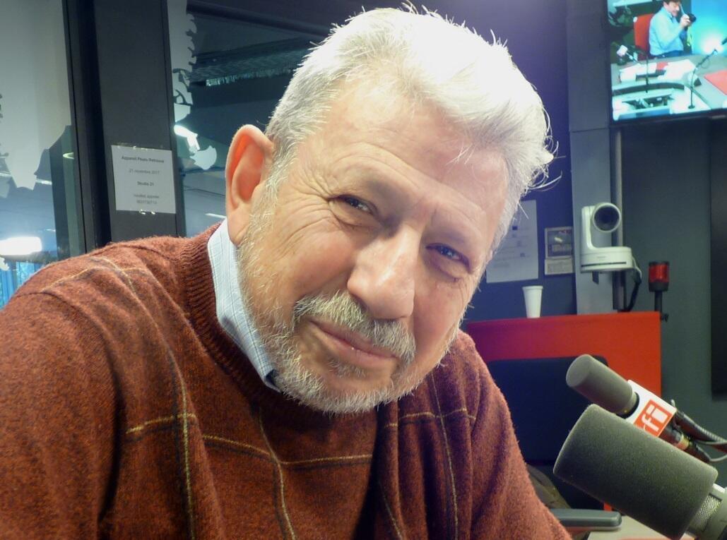 Mario Diament en los estudios de RFI