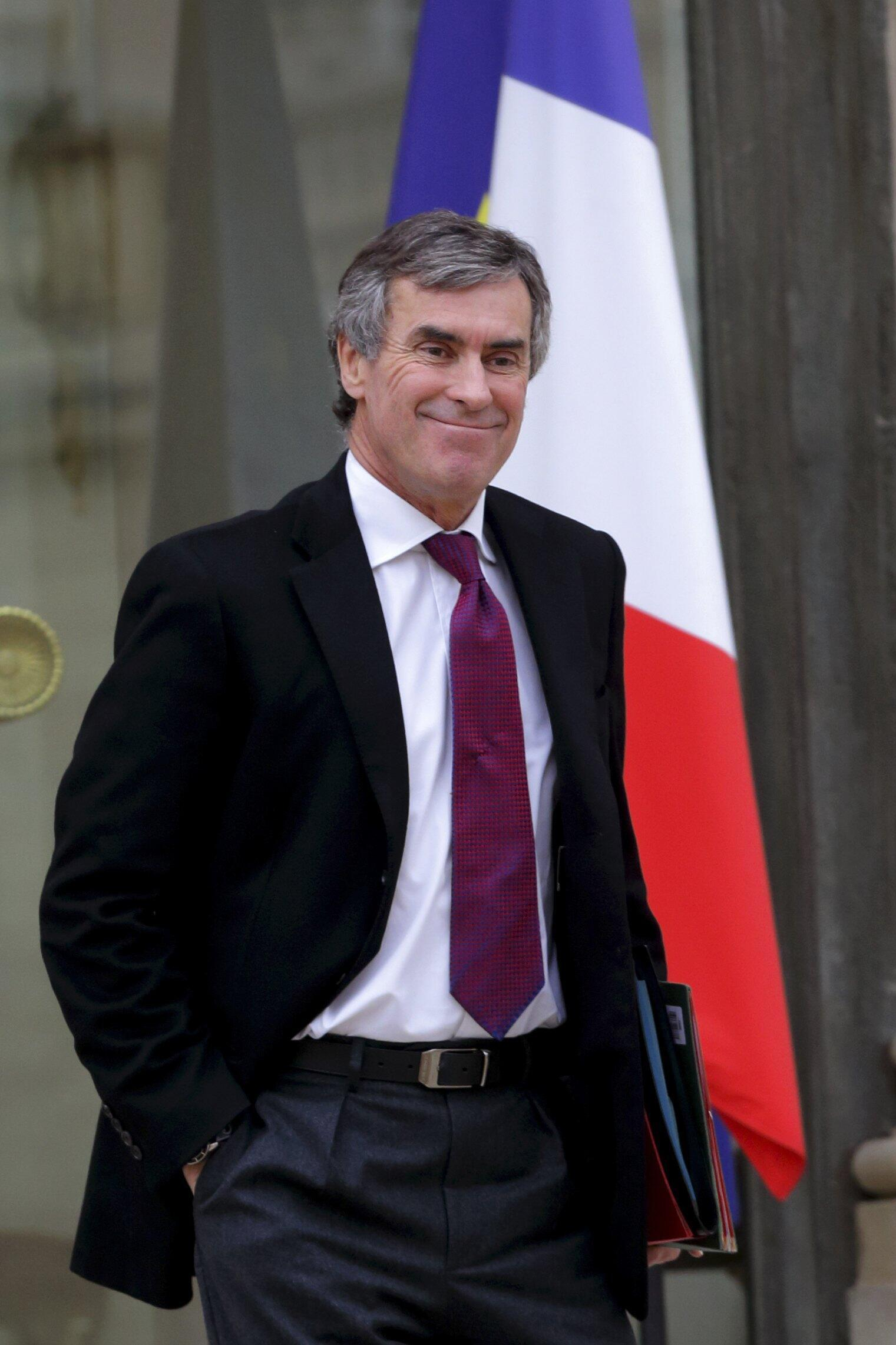 Министр по делам бюджета Франции Жером Каюзак